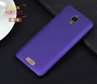 Чехол накладка бампер для Lenovo S660 фиолетовый