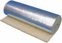 Рулонный утеплитель Knauf Insulation LMF AluR 8 м.кв. (30*8000*1000мм) фольгированный