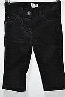 Штаны черные 6-9 мес (Д)