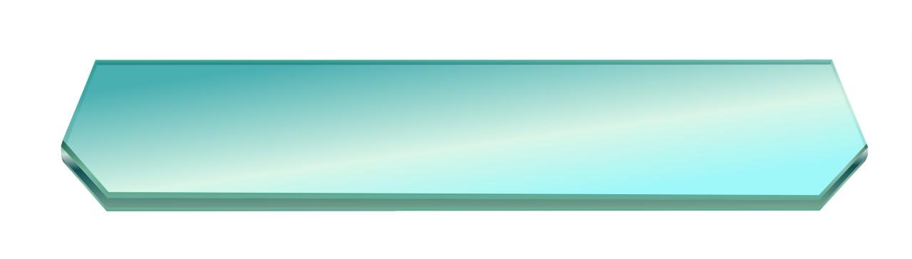 Полка НСК прямоугольная со срезами стеклянная 600ммх150ммх6мм, прозрачная., фото 1