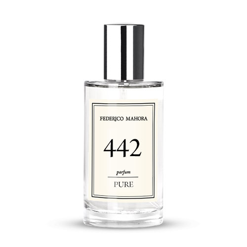 Fm 442 Pure 50 ml Духи Аромат Yves Saint Laurent Black Opium (Блэк Опиум Ив Сен Лоран) FM World UA