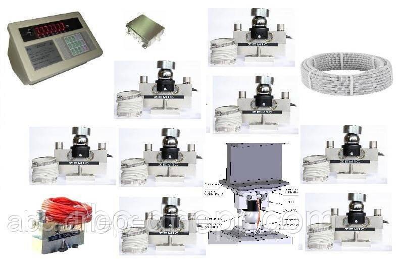 Приладдя до автомобільних електронних ваг (датчики терморезисторні, кабель, індикатор ваговий)