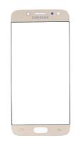Стекло (для ремонта дисплея) для Samsung J730F Galaxy J7 (2017), с OCA пленкой, цвет золотой
