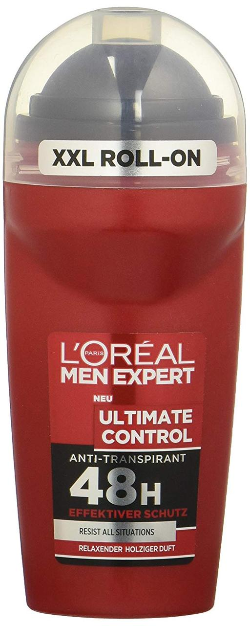 Дезодорант антипреспірант кульковий чоловічий L'Oreal Men Expert Ultimate Control 50мл.