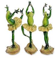 """Набор из 3 статуэток """"Лягушки - танцоры"""" MN- 57"""