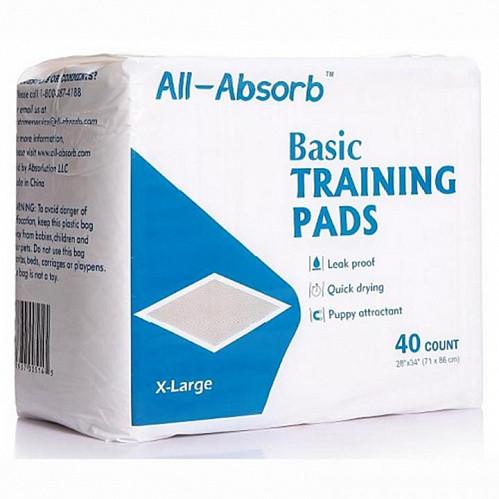 Пелюшки All-Absorb Basic Олл-Абсорб Басик для собак 71х86см 40 шт