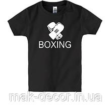 Наклейка на ткань Boxing (цена за размер 17х20 см)