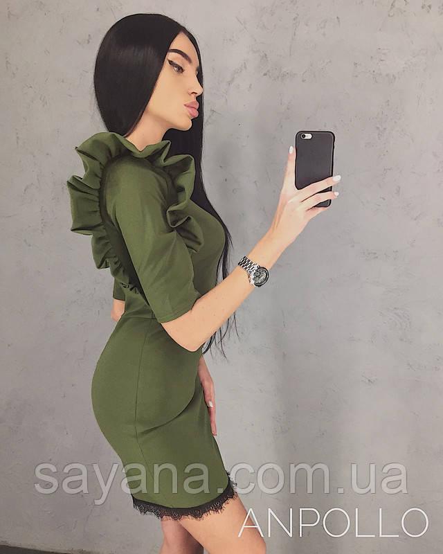 платье с декором оптом