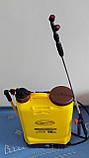 Обприскувач садовий з ручним приводом Уралелектро ОСАРП-16 (акумуляторний), фото 2