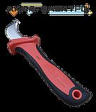 Нож монтажный для снятия изоляции с пяткой NEO TOOLS (01-551), фото 3