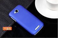 Чехол накладка бампер для Lenovo A706 синий