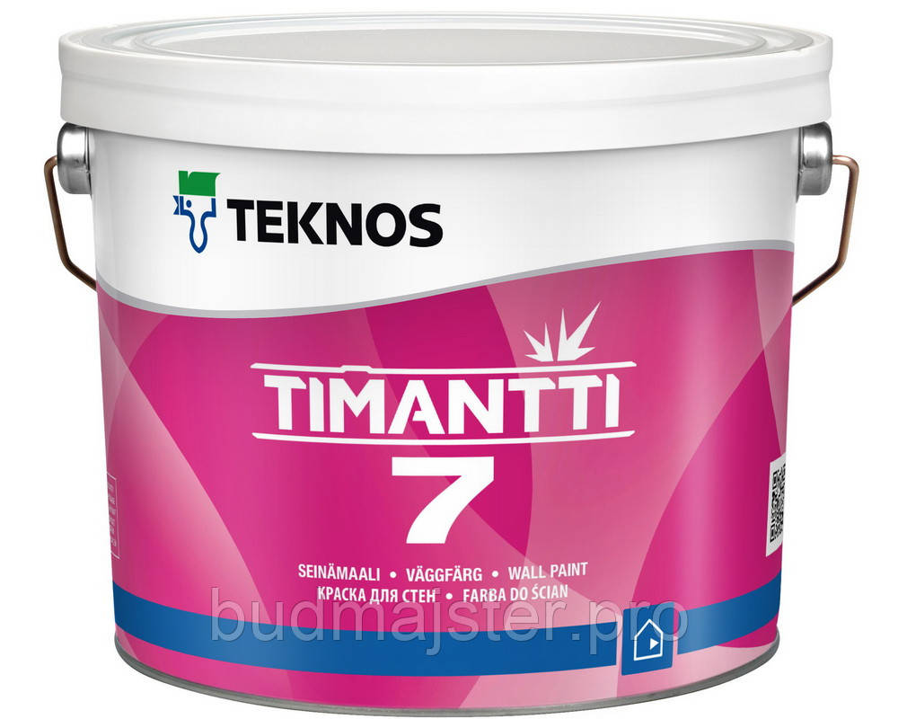 Фарба Teknos Тімантті 7 Б1, 2,7 л