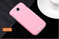 Чехол накладка бампер для Lenovo A706 розовый