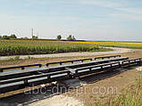 Весы автомобильные 18 метров 60 (80) тонн Литва, фото 2