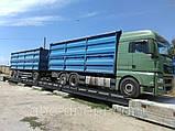 Весы автомобильные 18 метров 60 (80) тонн Литва, фото 4