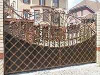 Кованные ворота 287, фото 1