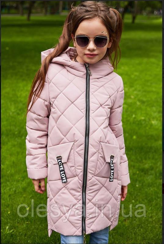 Детская демисезонная куртка на девочку бренда Nui Very Жаклин Размер 116