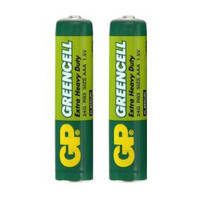 Батарейка GP GreenCell 24G R03 AAA 1.5 V, фото 1