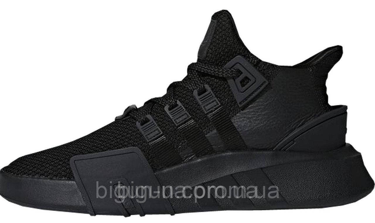 sports shoes 83e7b ac4d2 Мужские кроссовки Adidas EQT Bask ADV Triple Black (адидас ект баск, черные)