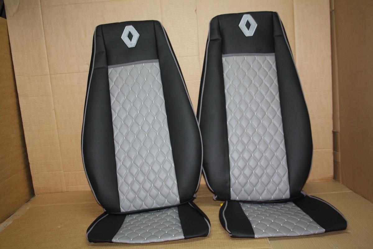 Чохли на сидіння Renault Premium 430-440-460 (05-14) сірі