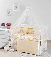 Детская постель Twins Comfort New Медуны 7 эл C-110 yellow, фото 1