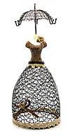 """Подставка под бижутерию """"манекен зонт"""" (35х15х15 см)(79716)"""
