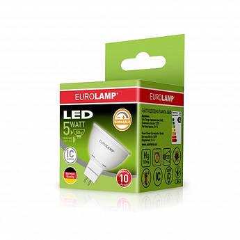 EUROLAMP LED Лампа ЕКО SMD MR16 5W GU5.3 3000K