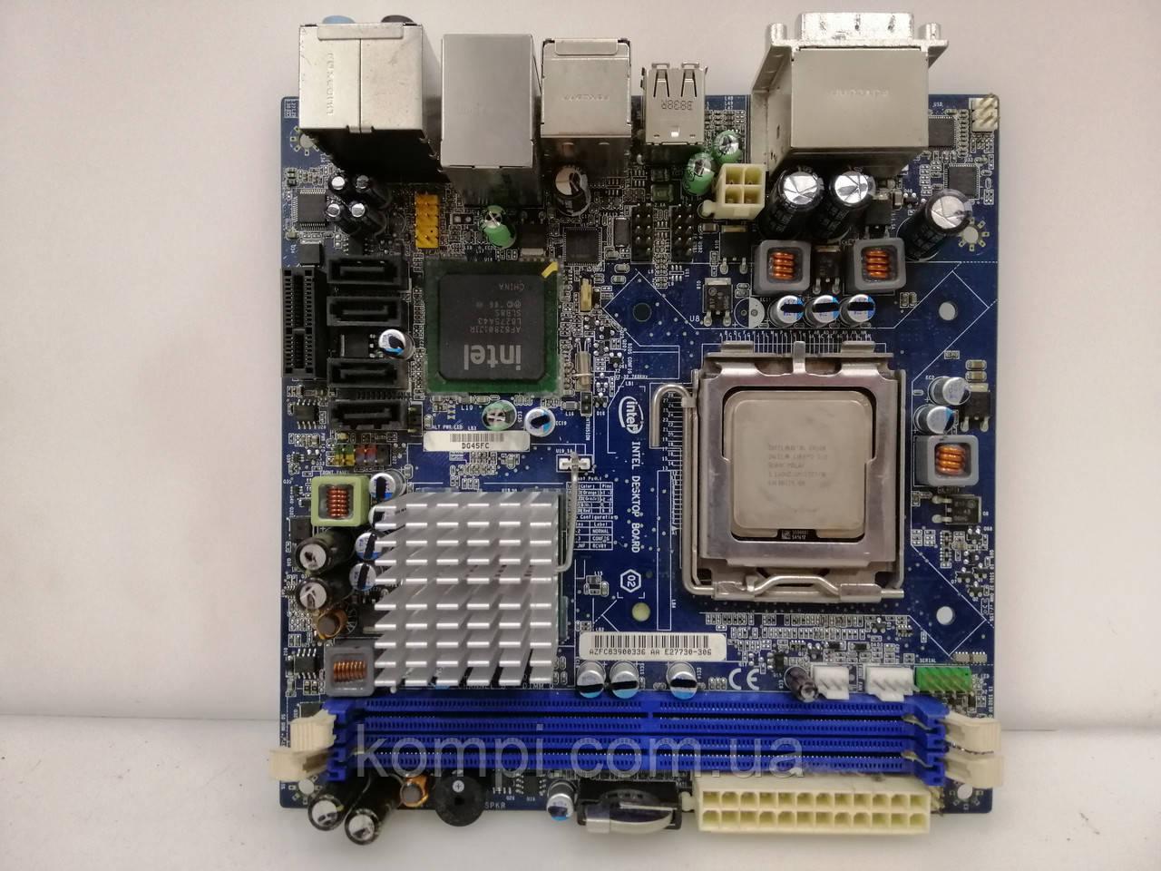 Материнская плата INTEL DG45FC mini-ITX DDR2