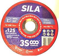 Круг отрезной по металлу Sila 125х1х22.2 мм