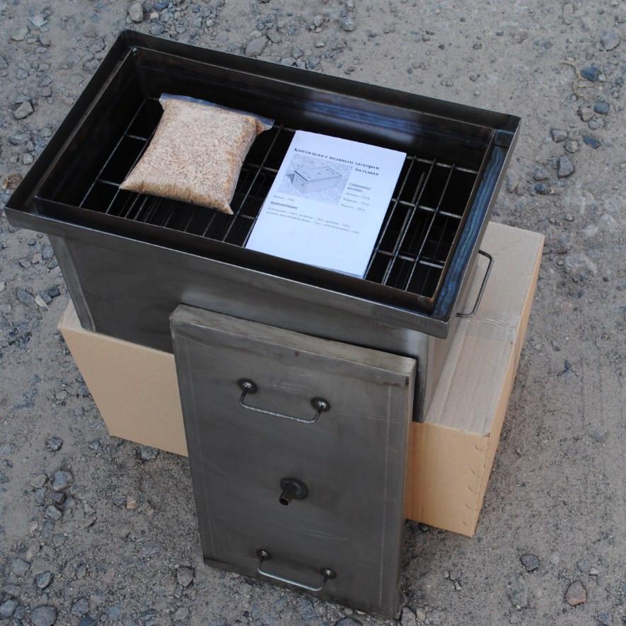 Лучшая коптильня горячего копчения купить отзывы самогонный аппарат добрый жар экстра люкс 20л отзывы