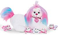 Беременная собачка и ее щенки Just Play Puppy Surprise Plush Missy из США, фото 1