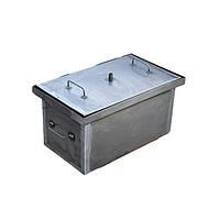 Коптильня горячего копчения из  стали 460х300х280 мм металл 2 мм