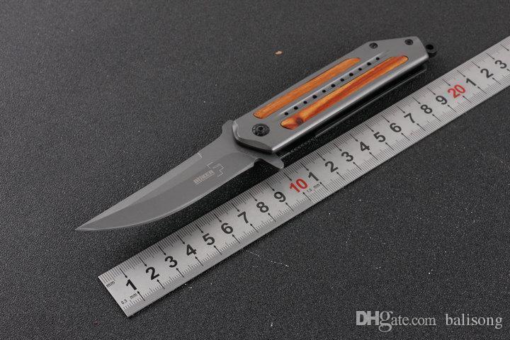 Нож складной Boker DA-102, клипса на пояс, отверстие для темляка, складные ножи