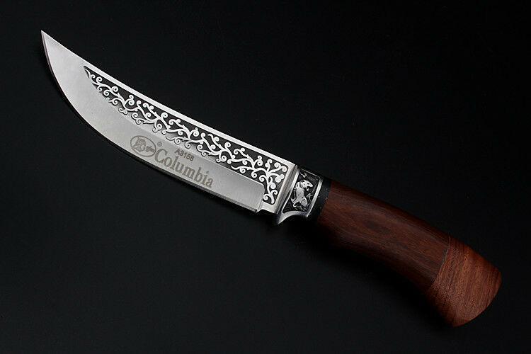 """Охотничий нож Columbia A3158 """"Олень"""", с чехлом, нескладные ножи, ножи для охоты"""