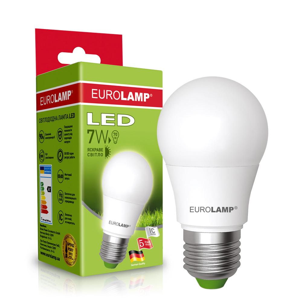 EUROLAMP LED Лампа ЕКО А50 7W E27 4000K