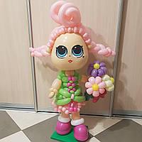 Кукла из воздушных шаров, выбор 👉 или свой вариант, высота ок.1,2 м