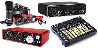 Музичне студійне обладнання