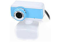Веб-камера с микрофоном  Синий