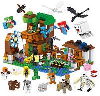 Конструктор LELE 33163 Загородный дом + 28 персонажей 1007дет