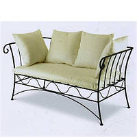 Кованый диван №3