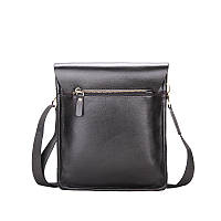 Повседневная деловая мужская сумка Черный, коричневый, фото 2