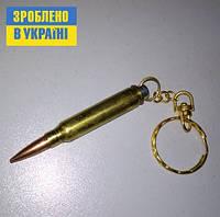 Брелок-сувенир ПАТРОН  5,56х45 (223 Rem) калибр НАТО , фото 1