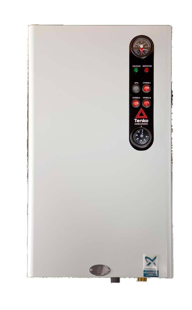 Котел электрический Tenko стандарт плюс 24 кВт 380В Grundfos