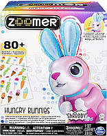 Интерактивный кролик, кушает, Hungry Bunnies Robotic Rabbit, Spin Master, Zoomer из США, фото 1