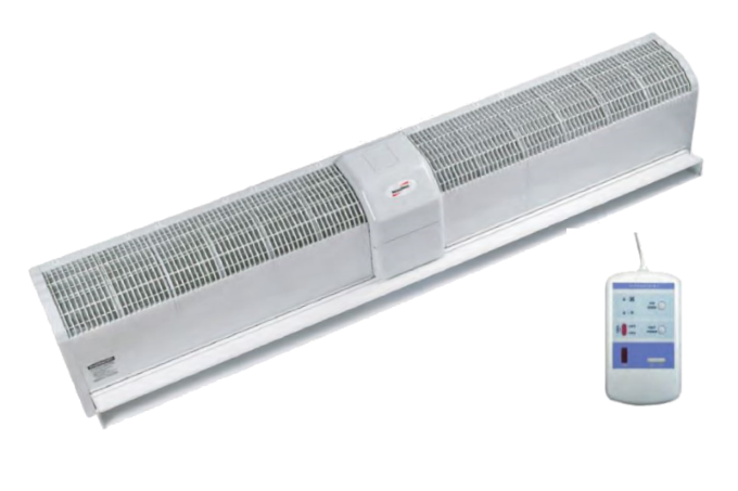 Тепловая завеса NeoClima Intellect E 37 (дист.упр., 18кВт, проем 1,8м, горизонт)