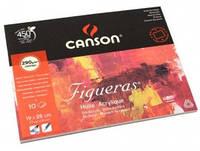 Блок для рисования 10 листов 19*25 см Figueras Canson 290 гр