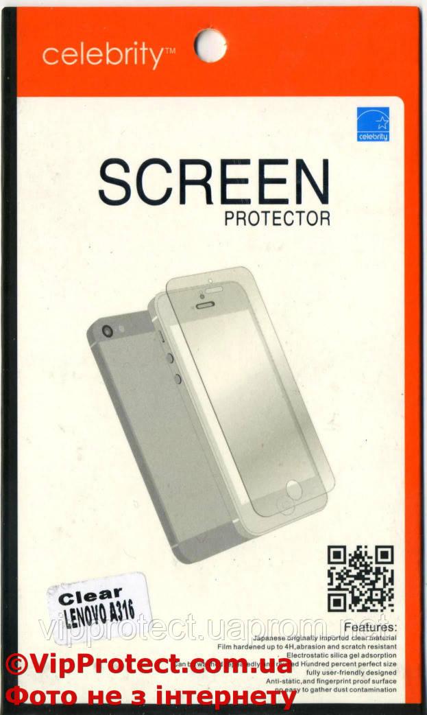 Lenovo A316, глянцевая защитная пленка на телефон