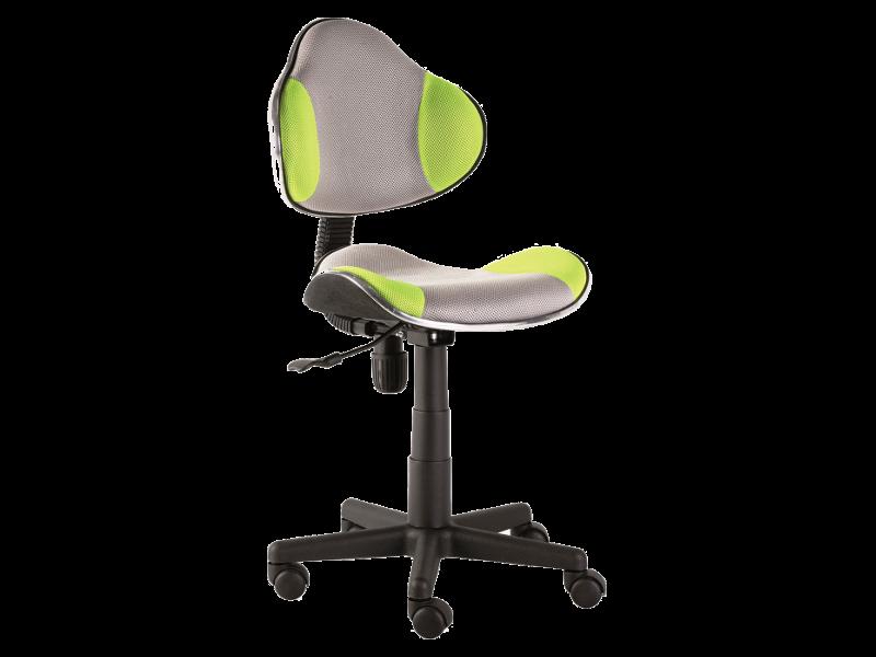 Компьютерное кресло Q-G2 ткань Signal серо-зеленый