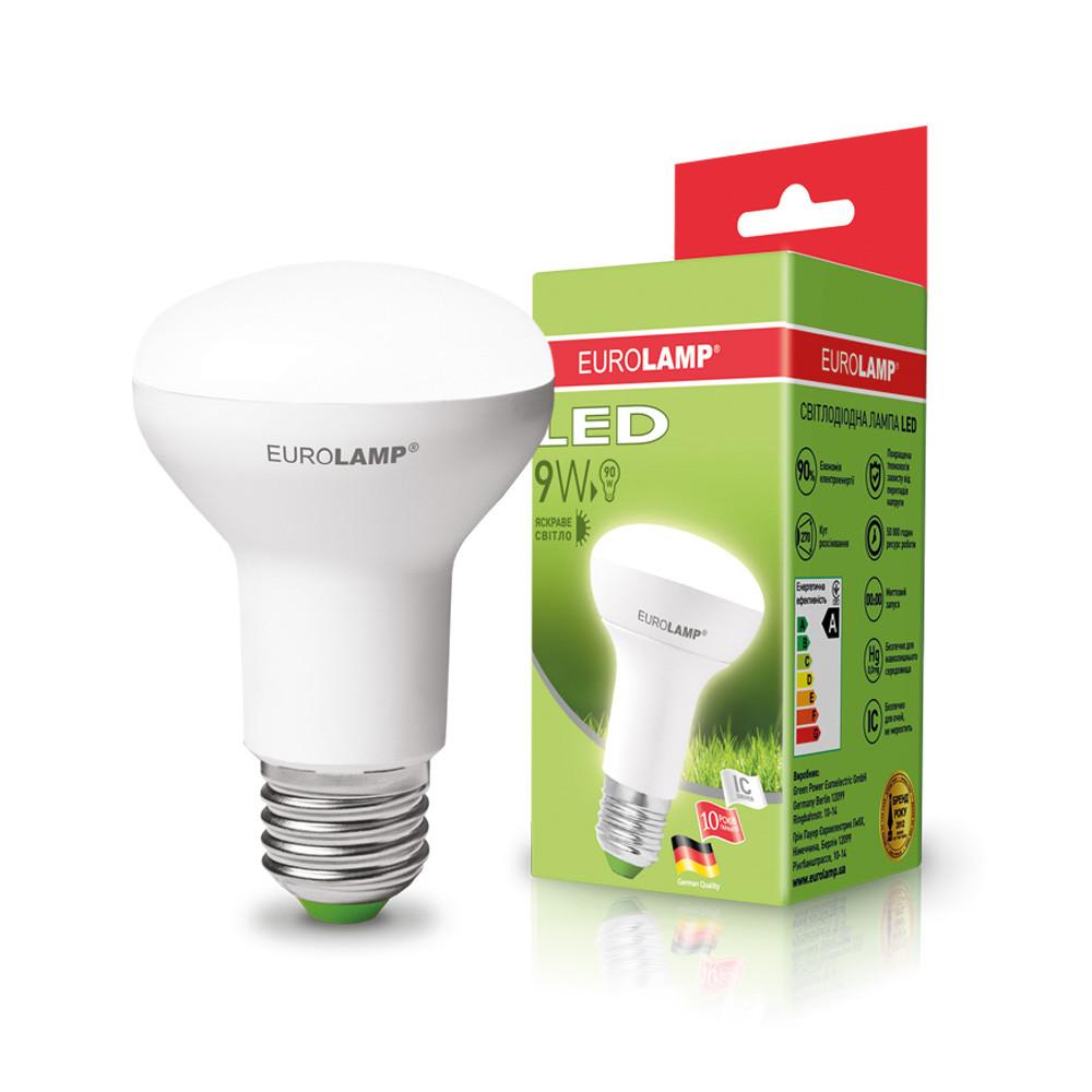 EUROLAMP LED Лампа ЕКО R63 9W E27 4000K