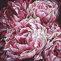 Картины по номерам, картины по номерам на холсте Цветы KHO3014